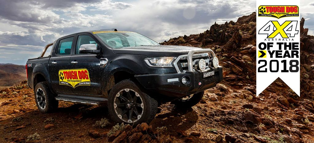 4x4 of The Year 2018 Tough Dog 4WD Suspension