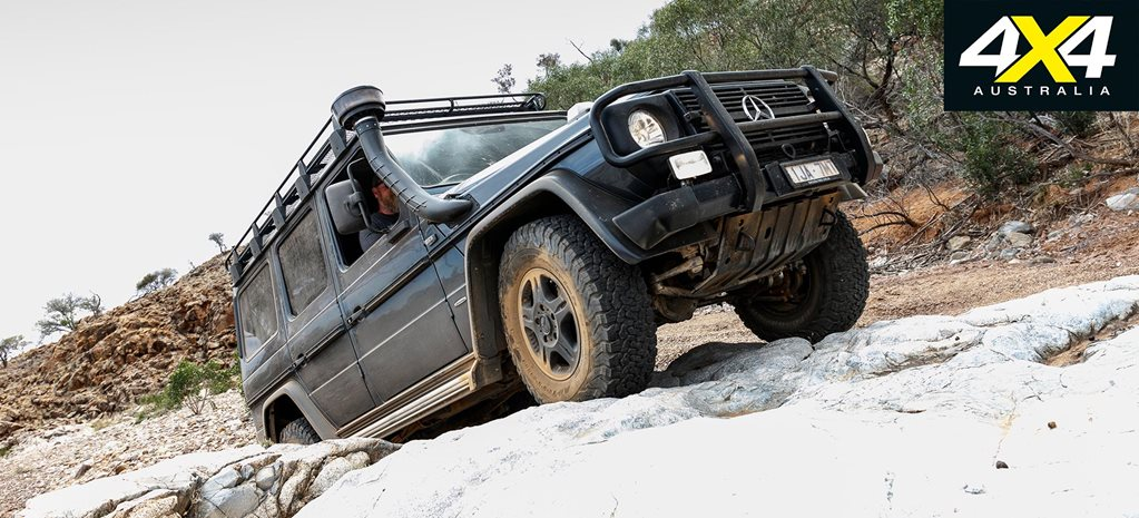 4x4 Shed 2017 Mercedes Benz G300 Professional part 3