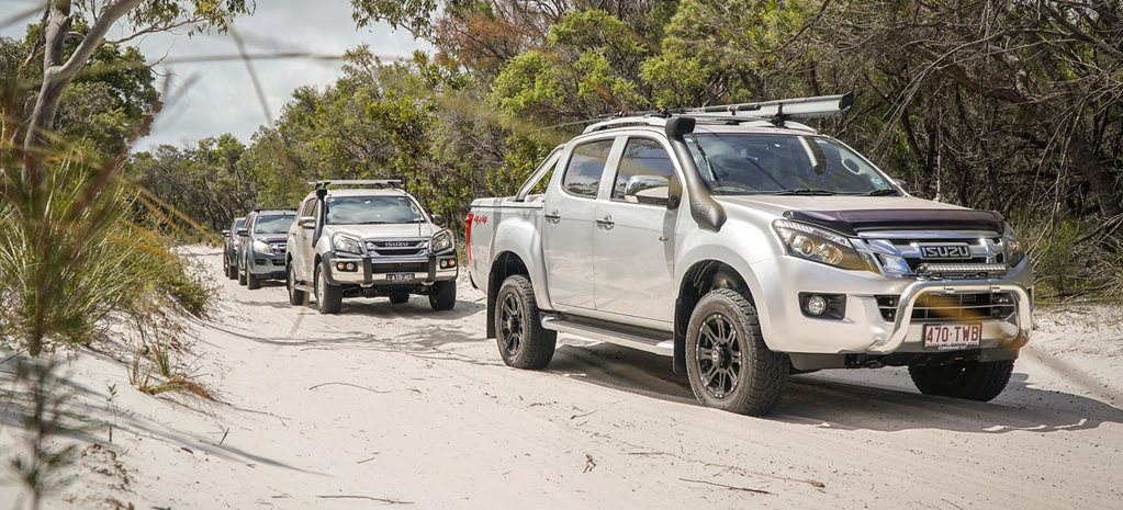 Isuzu I Venture Club on Fraser Island trip