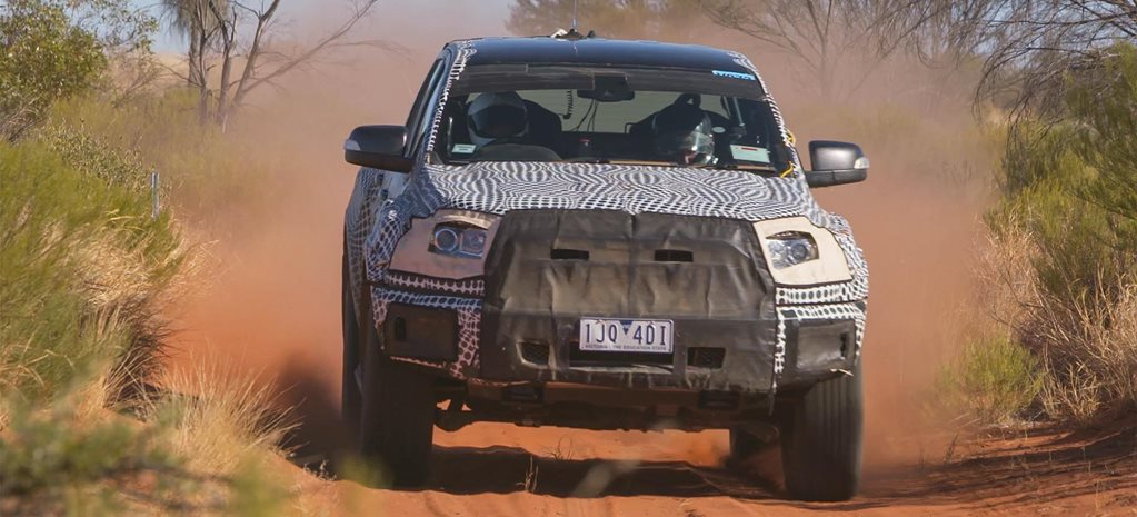 2019 Ford Ranger Raptor Development 2