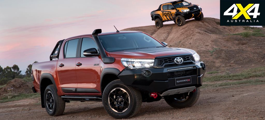 2018 Toyota Hilux Rogue, Rugged and Rugged X engineered ...