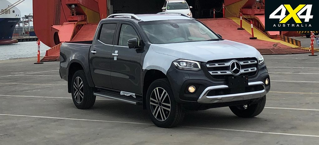 2018 Mercedes-Benz X-Class ute snapped in Melbourne
