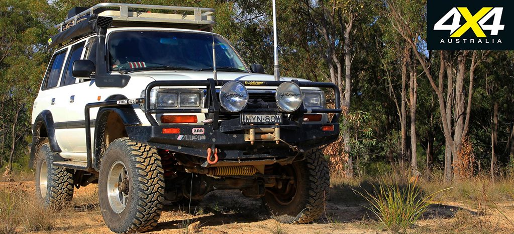 Custom 1994 Toyota LandCruiser 80 Series feature
