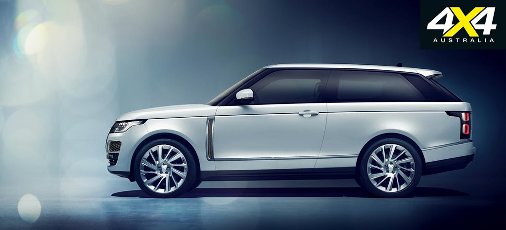 Range Rover SV Coupe revealed at Geneva Motor Show