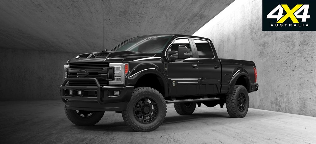 Tuscany Black Ops Ford F-250 unleashed by Performax ...