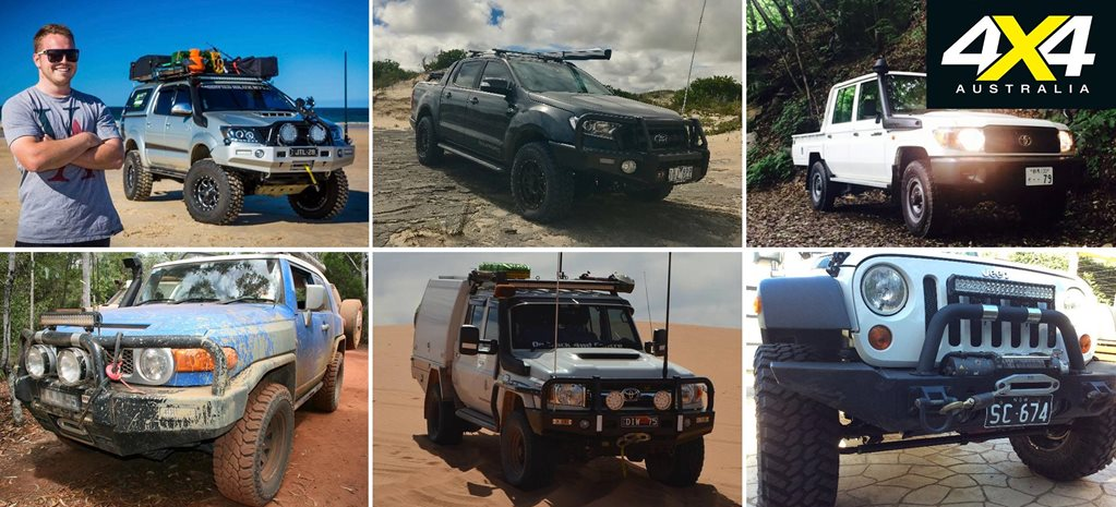 Readers 4x4s Hilux Ranger and plenty of Land Cruisers feature