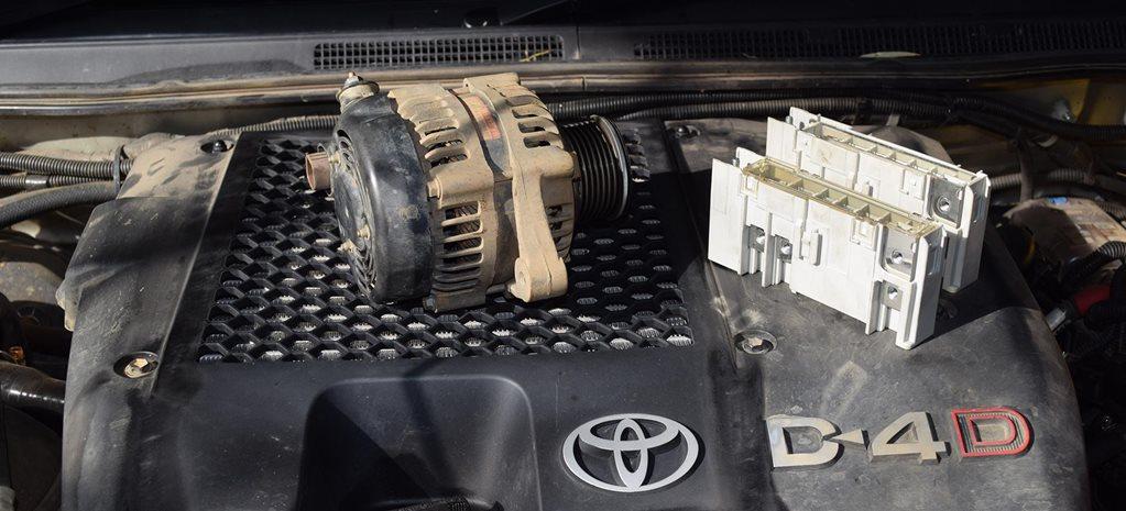 Don't overload your alternator