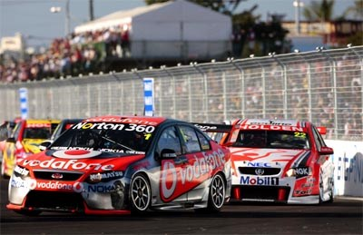Second V8 Supercar race for the Middle East