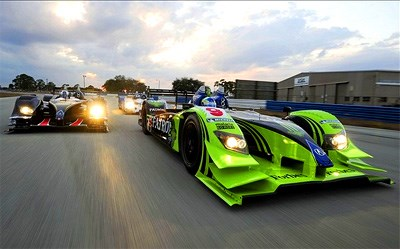 Brabham wins ALMS race on the streets of St Petersburg