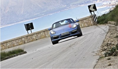 Grand re-opening - Porsche Boxster S