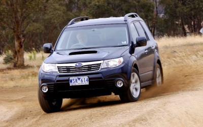 COTY 2008 - Subaru Forester