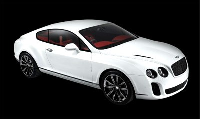 2009 Geneva Show - Bentley Continental Supersports