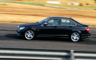 Fast, fun, frugal - 8th Merc C320