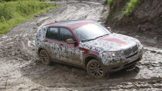 BMW releases official camouflage shots of new X3