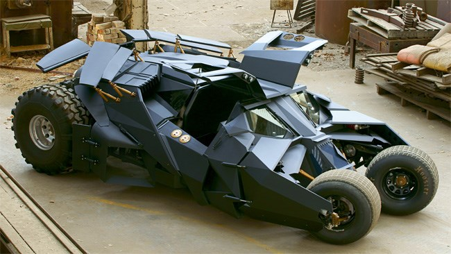 Aussie-built BATMOBILE!