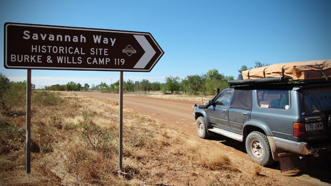 Travel the Savannah Way, Qld/NT