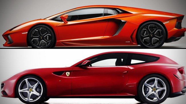 Latest Lamborghini and Ferrari cars sold out
