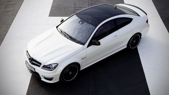 New C63 AMG Coupe revealed