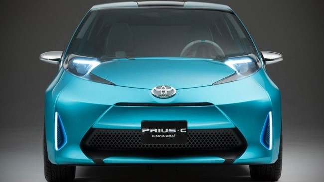 Prius C on its way