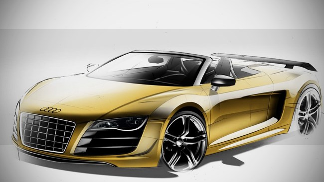 Audi R8 GT Spyder on the way