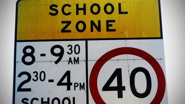 Report: QLD drivers ignore school speed zones
