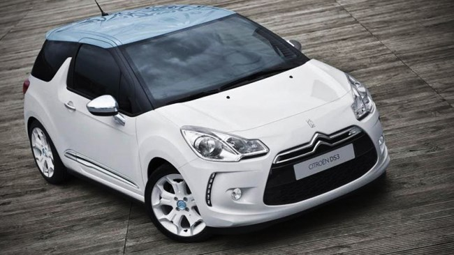Citroen DS3 convertible in the works