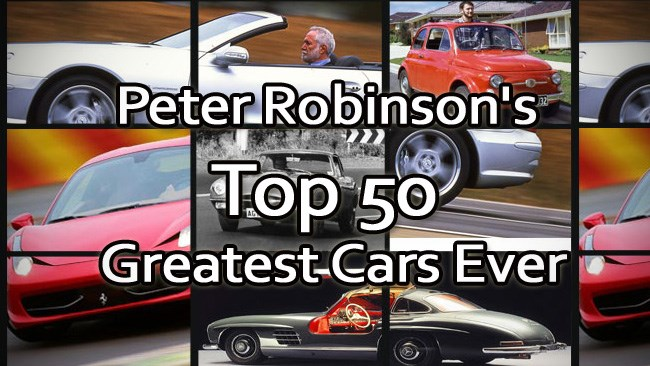 Robbo's Greatest Cars of All Time
