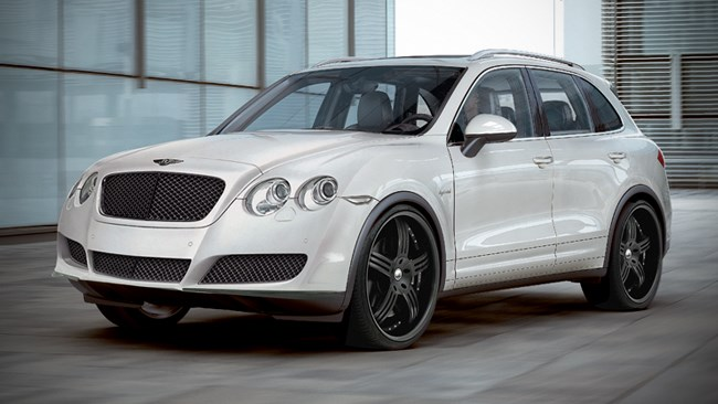 Bentley to build an SUV