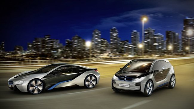 BMW's electric dreams