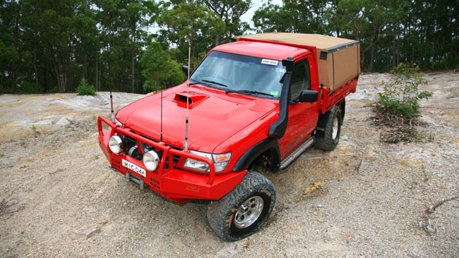 Modified Nissan GU Patrol