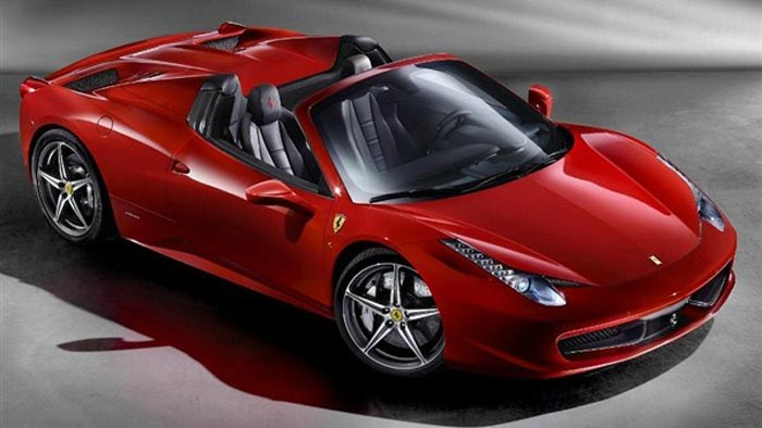 Ferrari 458 Spider revealed