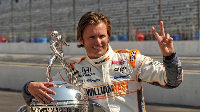 F1 stars pay tribute to Wheldon