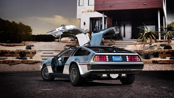 DeLorean Goes Electric in 2013