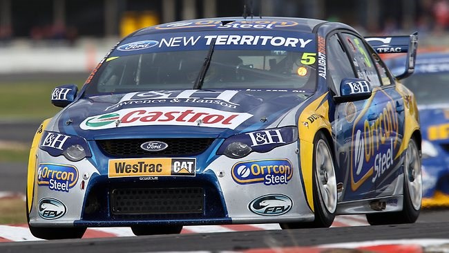 Frosty excited about V8 conclusion