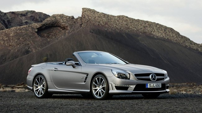 Wheels Magazine: Mercedes reveals SL 63 AMG