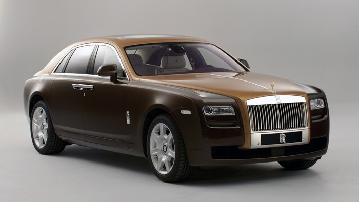 Two-tone Rolls Royce Ghost makes Geneva debut