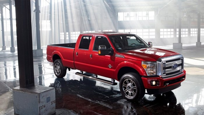 Ford Super Duty gets tech in addition to toughness