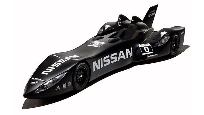 Nissan reveal 'Batmobile' Le Mans racer