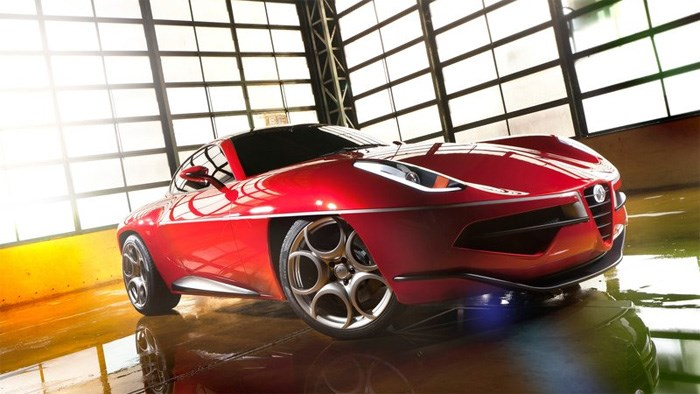 Alfa Romeo celebrates 60 years of the Disco Volante