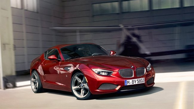 BMW Zagato Coupe revealed