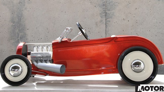 PEDAL TO THE HOT ROD METAL