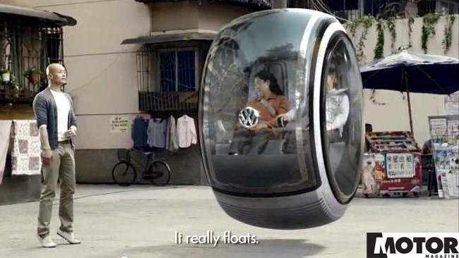 VW HOVER CAR LIFTS OFF