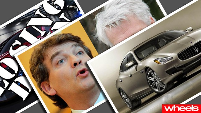 News of the World: Mitsubishi boss calls French politician a retard; Suzuki gives up on America; and Maserati prepares new Quattroporte, SUV and return of the Ghibli