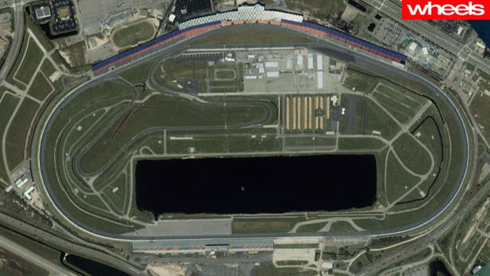 10 great racetracks as seen from space, wheels, magazine, review, price