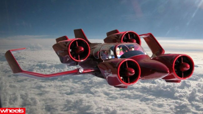 Flying car, future, reality, Wheels, Jetsons, million