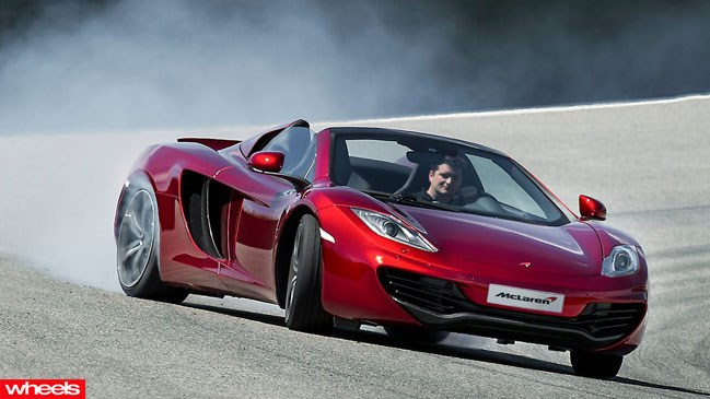 Review: McLaren MP4 12C Spider, 2013, Wheels, Magazine, Review,