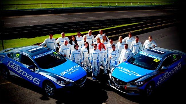 Mazda, celebrity, challenge, Wheels, Australian, Grand Prix