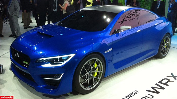 Subaru, WRX, concept, sports, hot, fast, British, ever, production, New York, Motor show, /img/wheels/WRX/1.jpg