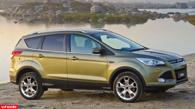 Review: new Ford Kuga, 2013, Wheels magazine, new, interior, price, pictures, video