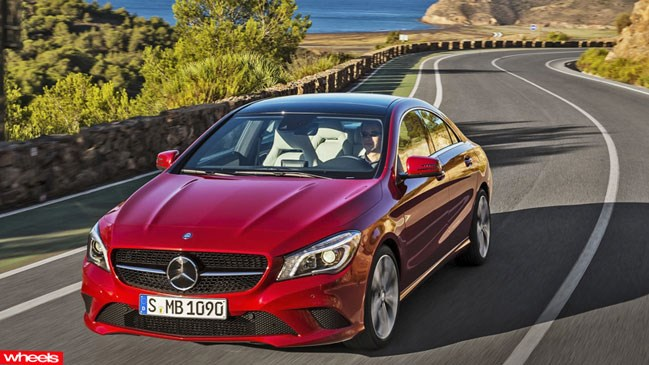 Review: Mercedes-Benz CLA, Limited Edition, Wheels magazine, new, interior, price, pictures, video